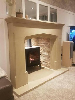 Yorkshire Stone Fireplace